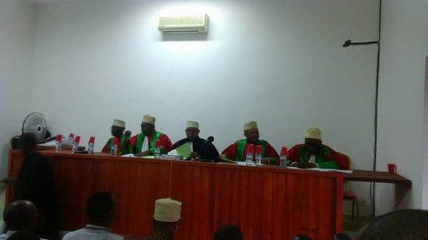 En direct � la Cour Constitutionnelle pour  conna�tre le nom du nouveau pr�sident de notre pays