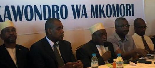 Communiqu� de La Grande coalition nationale constitu�e autour du candidat Mohamed Ali Soilihi