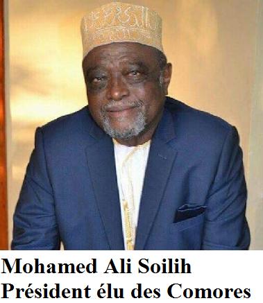 Mohamed Ali Soilih est-il �lu Pr�sident des l'Union des Comores ?