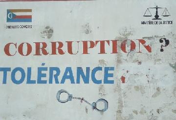 Il y a un sacrifice pour lutter contre la corruption aux Comores.