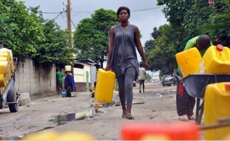 L'eau de la Mamwe est revenue mais COFIPRIX ne r�pond toujours pas.