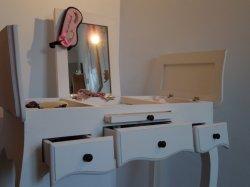 coiffeuse maison du monde mathilde. Black Bedroom Furniture Sets. Home Design Ideas