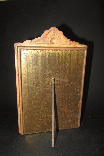 Ancien cadre porte photo en cuivre a decor de fleurs art deco art nouveau ebay - Dimension cadre porte ...