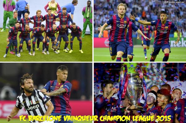 FC Barcelone │Vainqueur de la champion league 2015 │ Saison 2014/2015