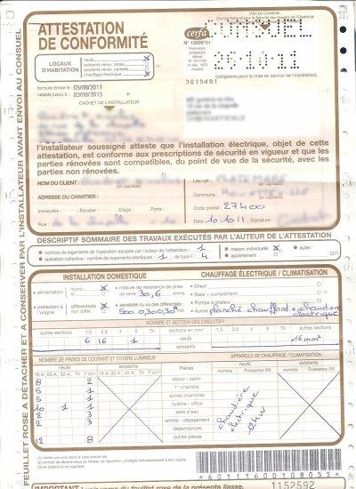 Normes consuel 2011 - Normes electriques consuel ...