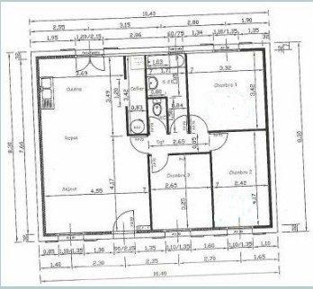 Plan int rieur de notre maison blog de mikit gradignan for Plan interieur maison d