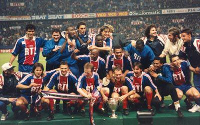 Psg rc strasbourg finale de la coupe de france 1995 le - Coupe de france strasbourg ...