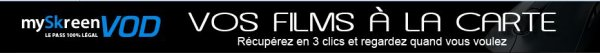 Myskreenvod : visionner votre vid�o en ligne