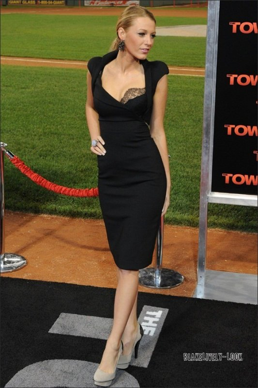 .Blake at The Town Premiere .