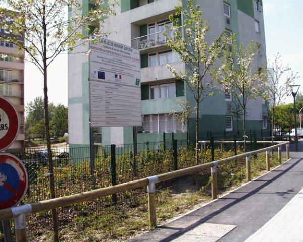 Nogent sur oise ville verte quartiers blocs cit s oise 60 for Piscine nogent sur oise
