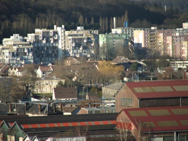 NOGENT SUR OISE Ville Verte  Quartiers Blocs cités Oise 60