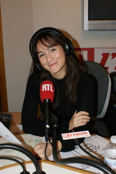 Interview de Marina Giraudeau, qui pr�sente des �missions sur la radio RTL !