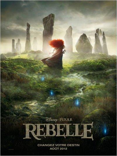 Le nouveau Disney, prévu pour l'été 2012 : Rebelle