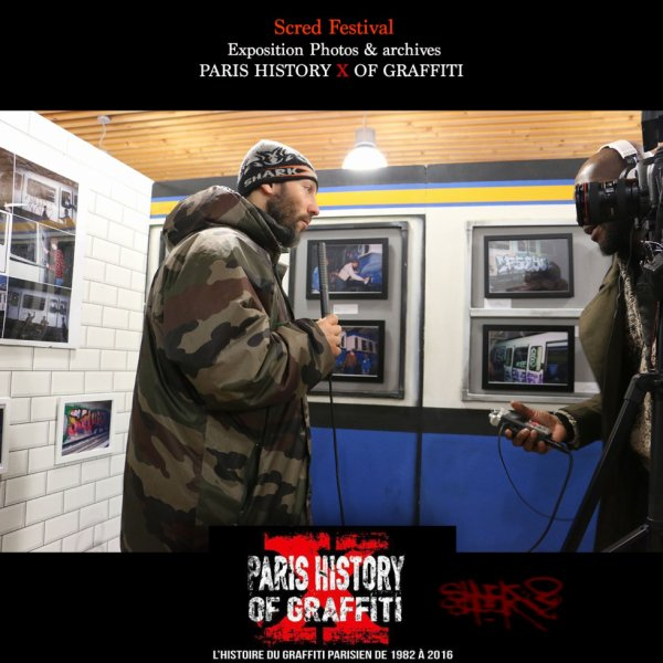 PARIS HISTORY OF GRAFFITI / SCRED FESTIVAL 2015