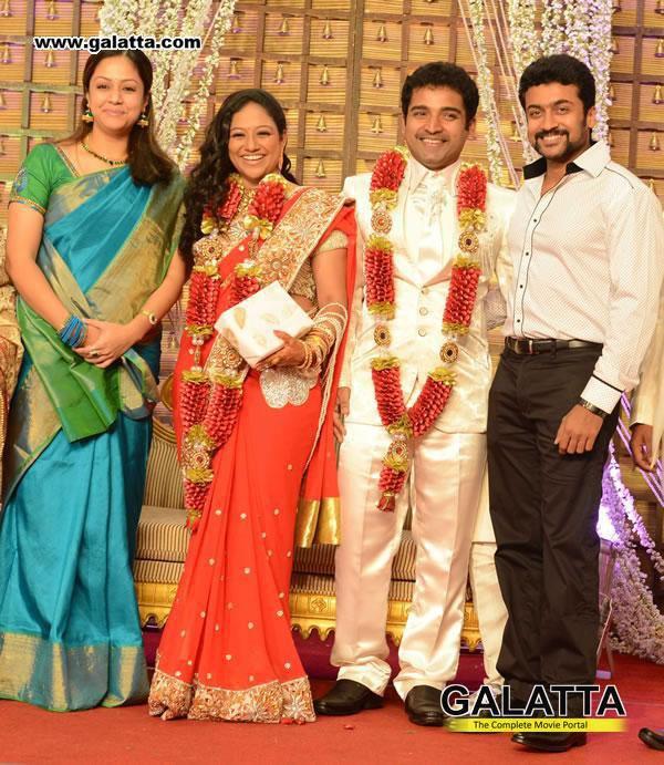 Surya & Jyothika @ Shobi Master Marriage!