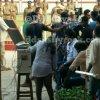 Suriya ShrutiHaasan @ Singam3 shooting spot