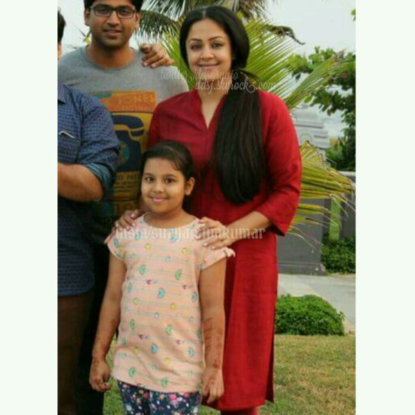 Suriya Jyothika @ Vizag during Singam3 shoot