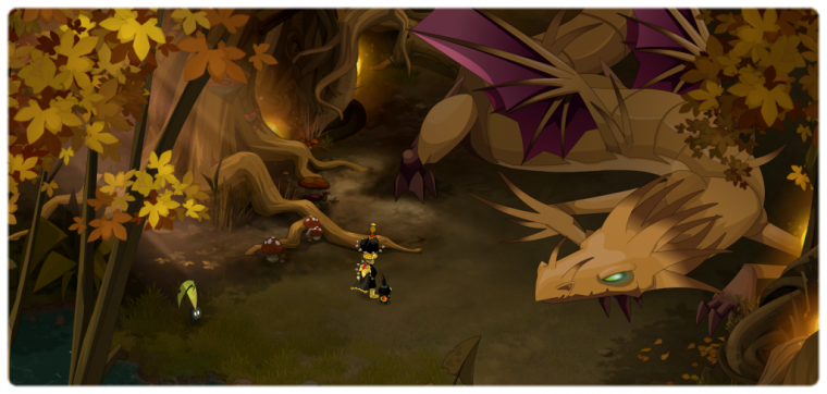 Qu�te El�mentaire : Le dragon des for�ts