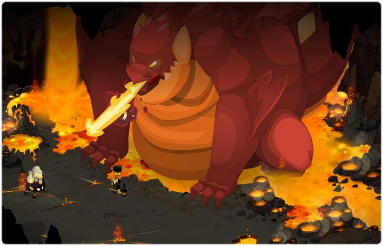 Qu�te El�mentaire : Le dragon des flammes