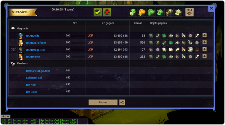 Jade au Clash Of Guilds 2. (Mage)