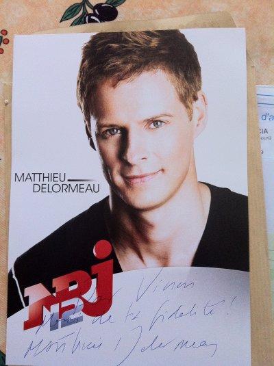 #3 Dedicace de Matthieu Delormeau #3