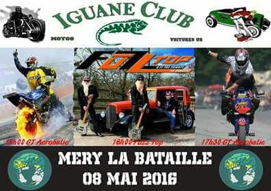 Rassemblement de moto le 8 mai 2016
