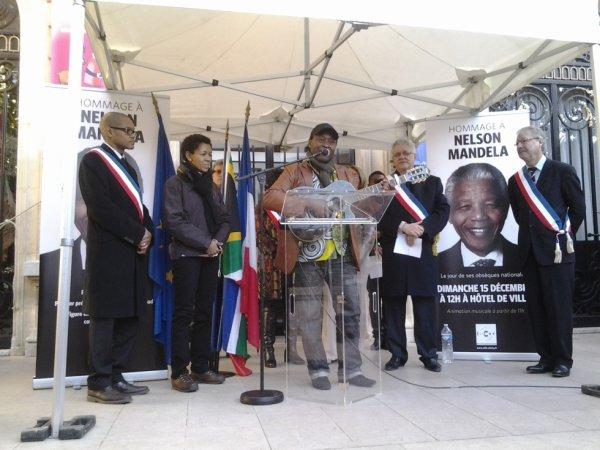 Hommage à NELSON Mandela par Jfodez
