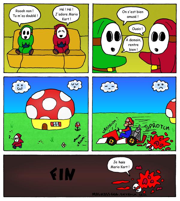 Bande dessinée Maskass