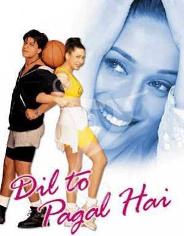 Dil to pagal hai mon reve les films bollywoodiens for Film indou saloni
