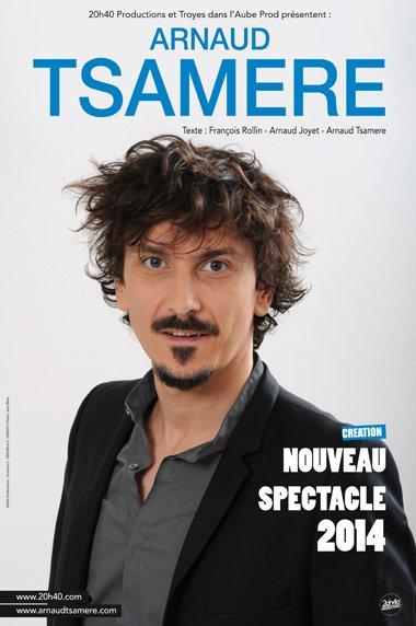 L'agenda d'Arnaud Tsamere