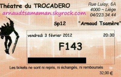 J'ai �t� voir le spectacle d'Arnaud Tsamere!!!!