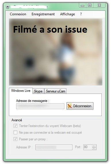 Attentions au piratage webcam