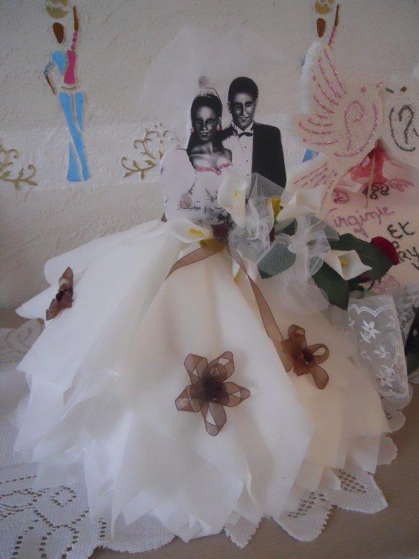 Deco pour mariage creation en serviette papier blog de for Serviette en papier deco