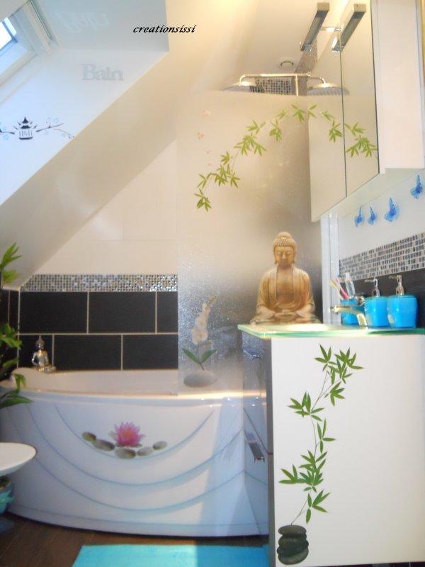 Deco zen de salle de bain oui c encore moi qui la for Deco salle de bain zen