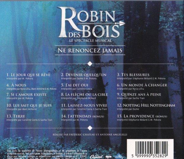Les chansons Robin Des Bois !