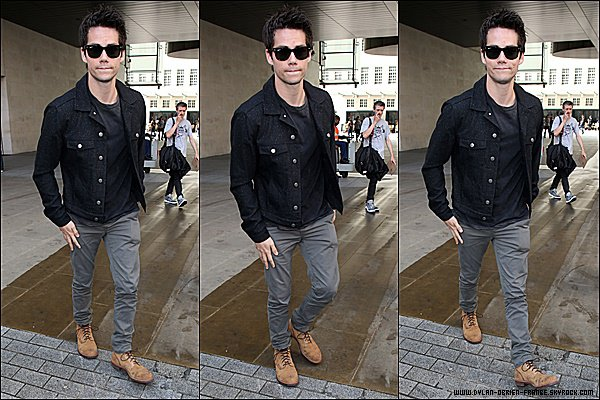 Le 07 Septembre 2015 | Dylan, malade, arrivant dans les studio de BBC Radio 1 de Londres.
