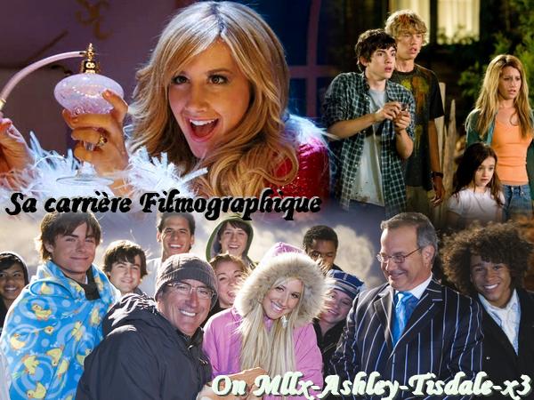 Sa Carrière en tant qu'Actrice On The Source About Ashley Tisdale !