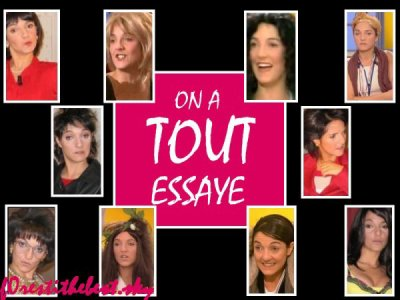florence foresti on a tout essayer Title: on a tout essay é (2000  isabelle alonso made a summary of a day she spent with a guest, with florence foresti impersonating fake guests.
