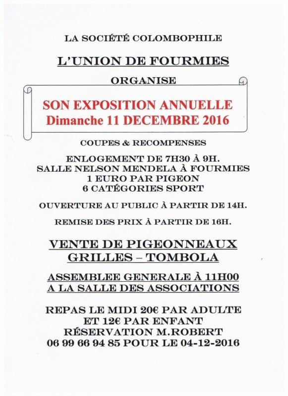 Exposition Annuelle