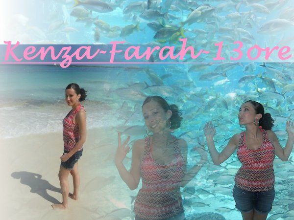 Photos de Kenza Farah a New york , Los Angeles , Miami et aux Bahamas ! ♥