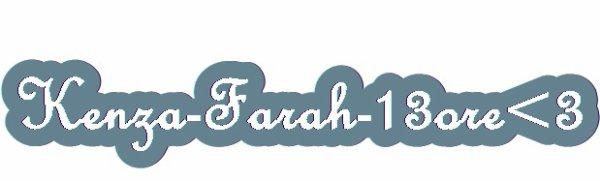 Voici le montage vidéo que j'ai réalisée pour Kenza Farah  ♥♥