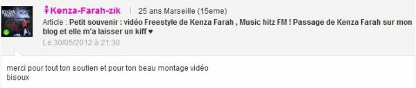 Le 1er single du 4�me album de Kenza Farah intitul� LUCKY !