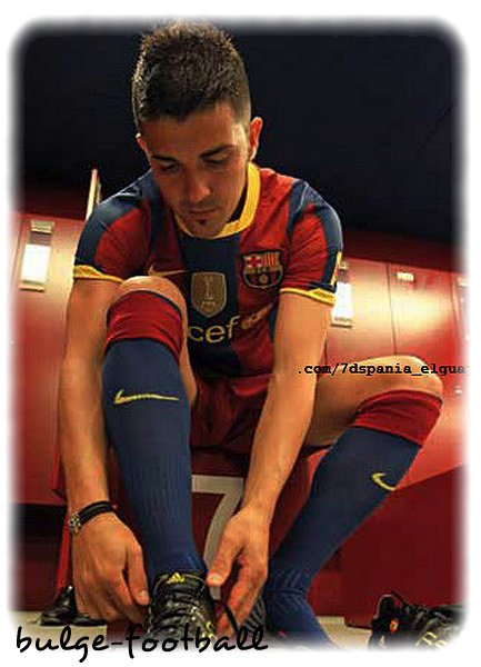 David Villa bulge