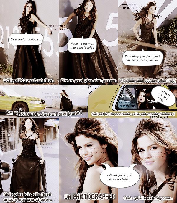 _Selena sur le set de son nouveau clip ♦ Elle d�couvre des choses vraiment passionnantes... Ou pas.