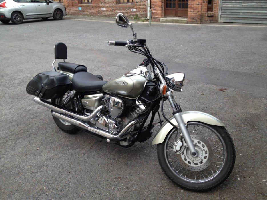 A vendre YAMAHA DRAGSTAR 125cc - Honda CBF - accessoires motards. 3259546016_2_3_mbO4Jdqg