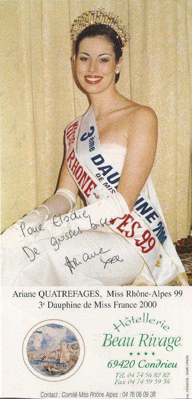 Ariane quatrefages miss photos - Sonia mabrouk mariee biographie ...