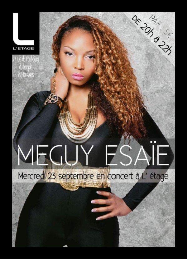 Concert Meguy  Esaie � l'Etage