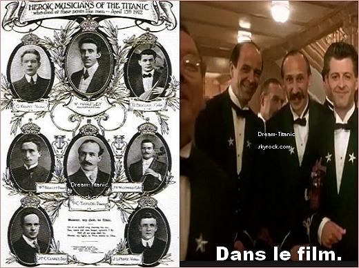 Les h�ros et h�ro�nes du Titanic.