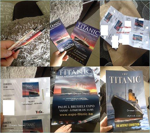 Titanic : L'exposition � Bruxelles.