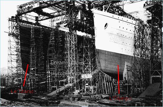 """Titanic : Les b�tisseurs de g�ants, un projet grandiose et un paquebot rapide et """"insubmersible""""."""